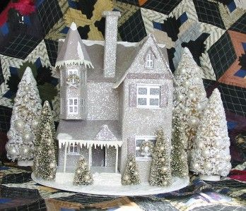 Cardboard Christmas Houses.1000 Images About Victorians On Pinterest Cardboard Houses