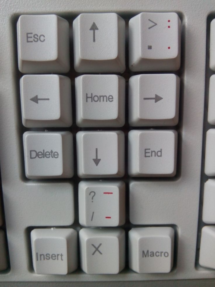 space keyboard panel