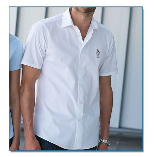 SeaHorse-Collection, men's short sleeve shirt, 49,99€
