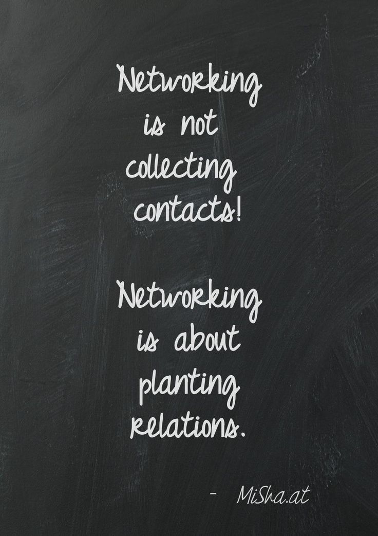 """""""Networking is not collecting contacts. Networking is about planting relations."""" – MiShaat"""