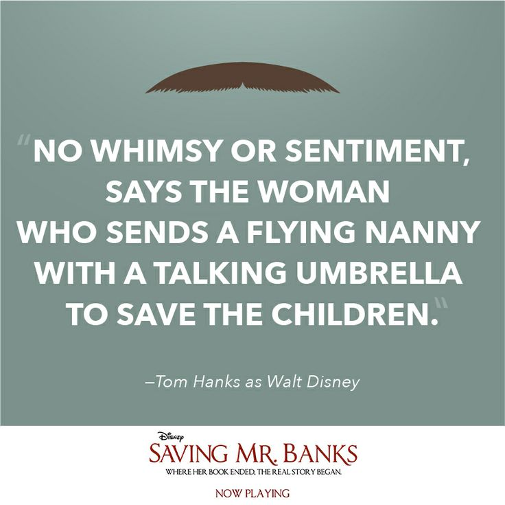 P.L. Travers and Walt Disney must work together to bring Mary Poppins to the big screen in #SavingMrBanks, now playing!