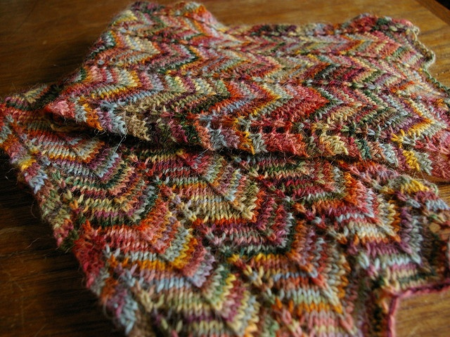 Knitted Scarf Pattern With Sock Yarn : 91 best images about Loom Knit Scarves, Cowls & Shawls on Pinterest Kni...