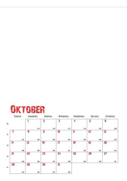Dit wordt werk voor tijdens de vakantie. Via deze link kan je zelf kalenderbladen aanmaken. Je kan kiezen voor week- of maandkalenders. ...