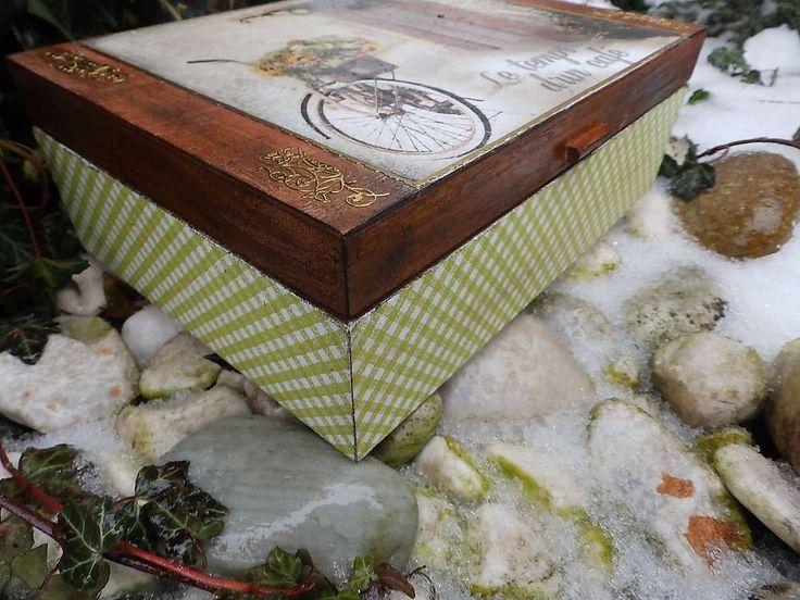 Krabičky - čas na kávu / čaj - 6312298_