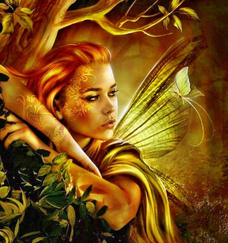 26 Best Elfen Und Feen Images On Pinterest