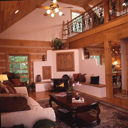 Shot_4b On Log Homes, Timber Frame And Log Cabins By Honest Abe Http:/