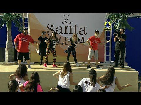 Santa Receita | Aula de zumba super animada no programa - 06 de Abril de 2016 - YouTube