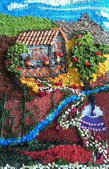 Escuela de artes manuales La Rueca | Telares