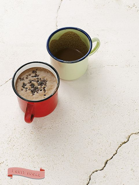 Peanut Butter Hot Cocoa from Sarah Wilson's best-selling I Quit Sugar Cookbook. Pre-order your copy today!