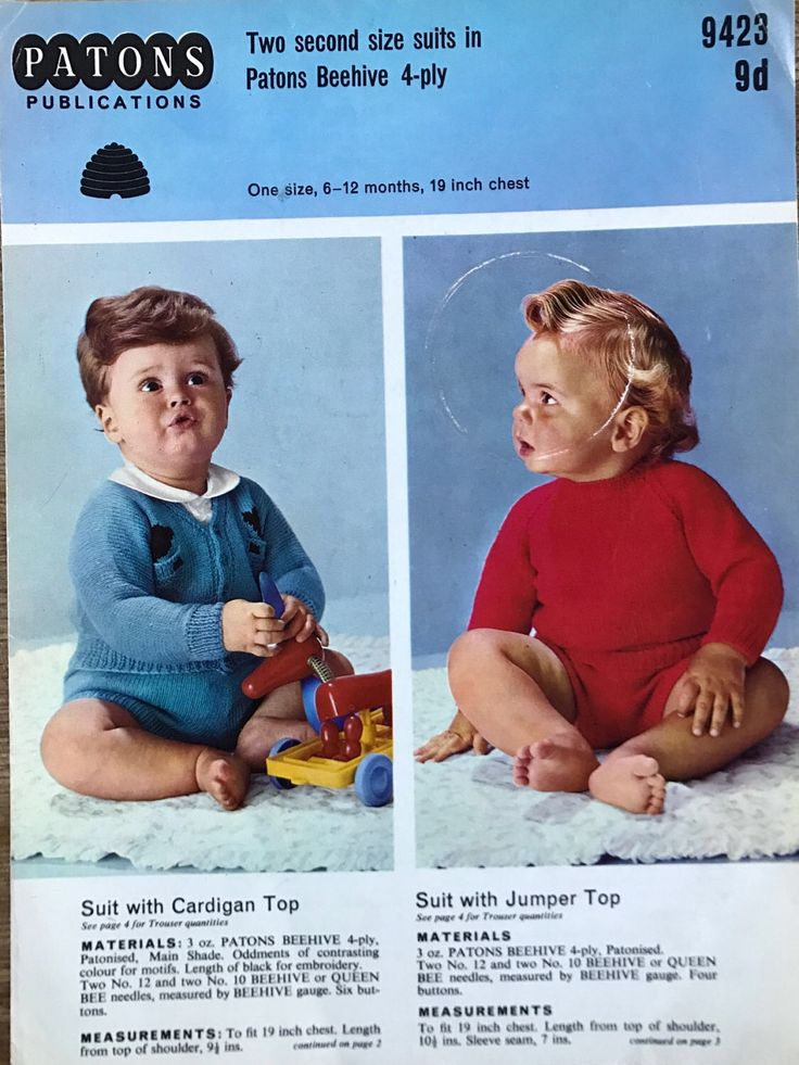 A personal favourite from my Etsy shop https://www.etsy.com/uk/listing/520745607/vintage-knitting-pattern-toddler