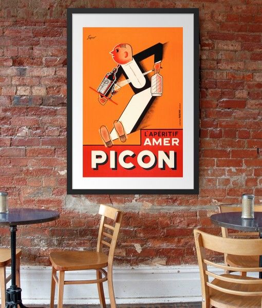 Picon Vintage Poster- Available in different sizes