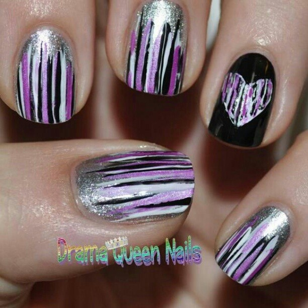7 best Nails images on Pinterest   Nail design, Cute nails and Hair dos