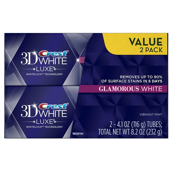 Crest 3D White Luxe Glamorous White, Vibrant Mint Flavor Whitening Toothpaste - 4.1 Oz Ea, Twin Pack => Insider's special review you can't miss. Read more  : Prime Pantry