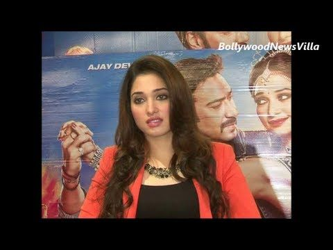 Tamannaah's experience of working with ajay devgan for himmatwala.