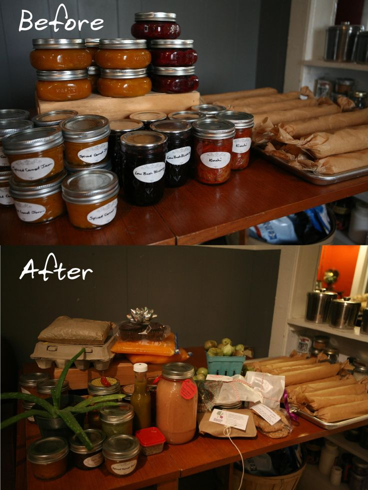 Before and After: Valley Food Swap. We made carrot jam, cranberry chutney, kimchi, blueberry jame, and frozen pie crusts. We came back with so much more!