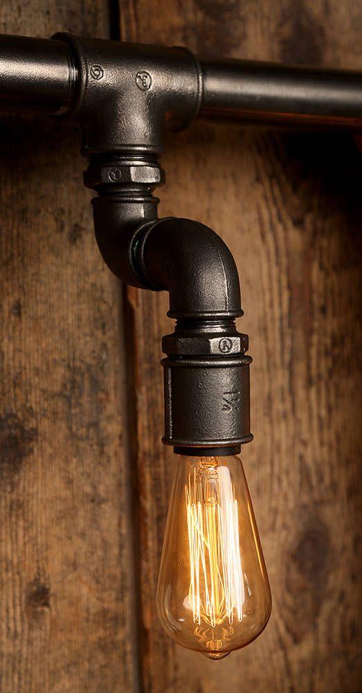 Cool Industriale Esszimmer Bilder Rohr Lampen