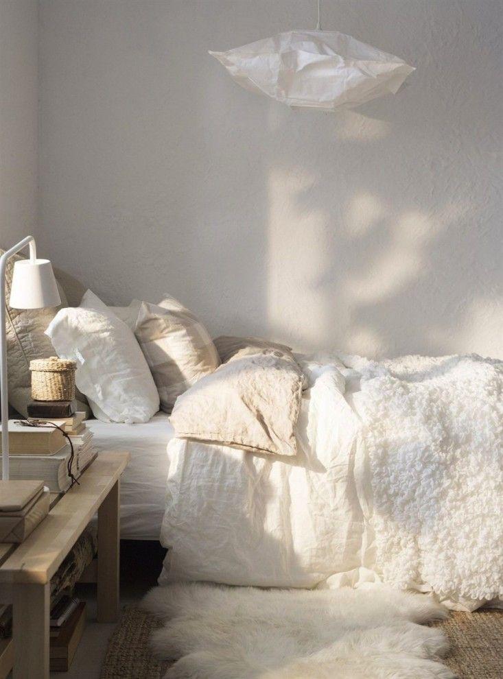 Paula Eklund Bedroom from Ikea Family Live Magazine | Remodelista