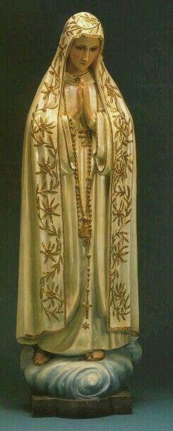 Imagen de la Virgen de Fatima.