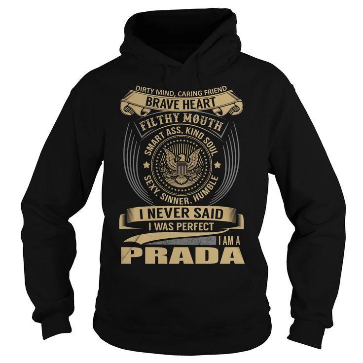 PRADA Last Name, Surname T-Shirt