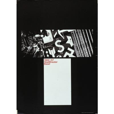 1966/67 - Stadttheater Basel-Plakat — Armin Hofmann
