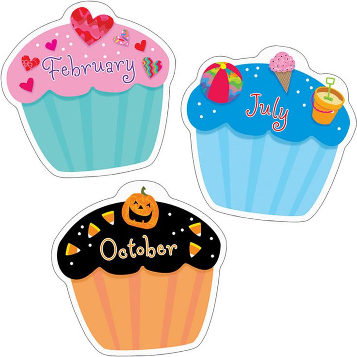 """Poppin' Patterns™ Cupcake 6"""" Designer Accents"""