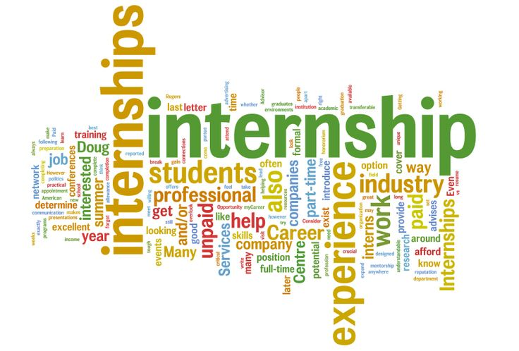 Setting #goals for your #internship.