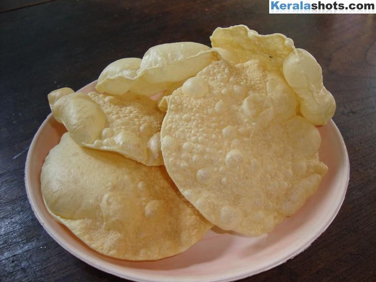 Pappadam | Kerala Food | Pinterest | Kerala food, Kerala ...