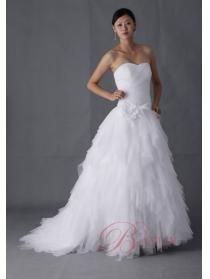 Informella bröllopsklänning balklänning Älskling Hals satin med Päls  Bayliy balklänning brudklänningar