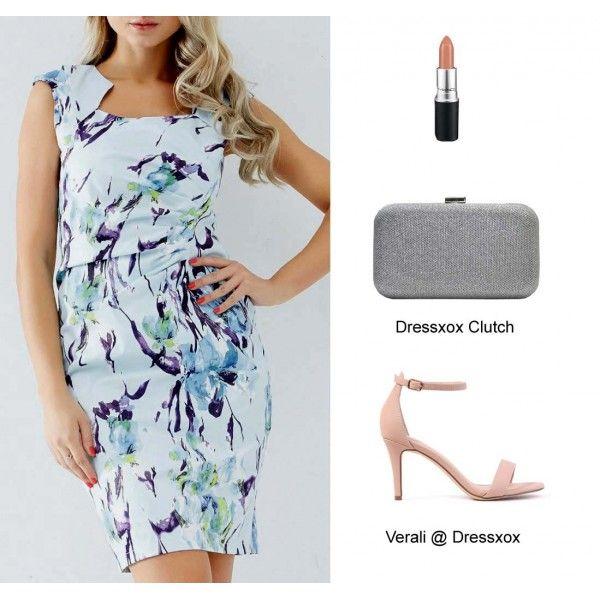 Loren Pastel Floral Dress