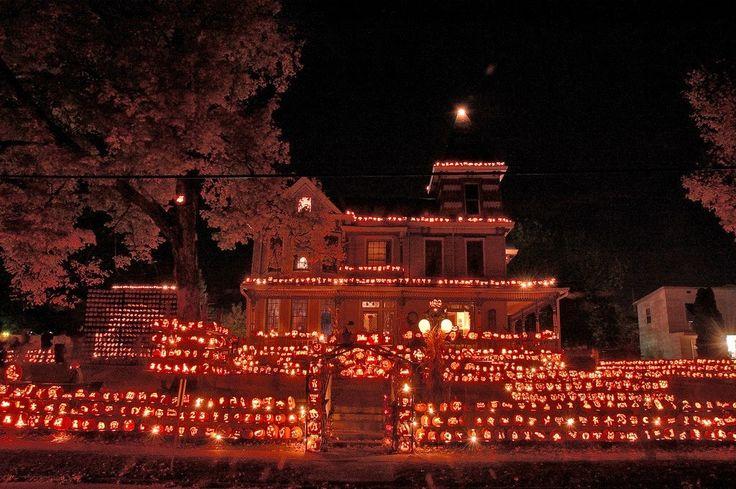 The Pumpkin House Kenova Wv Halloween Pinterest