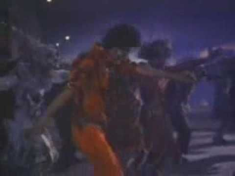Michael Jackson - Thriller  OH.MY.GOSH. when I first heard this song and album I was blown away.  I LOVED the creativity and melodies!  Still to this day I do the dance when this song comes on.. I have passed on this knowledge to my children.. who can kick some butt on Wii Michael Jackson dance experience... son!