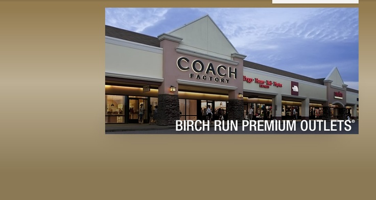 Birch Run Premium Outlet Shopping