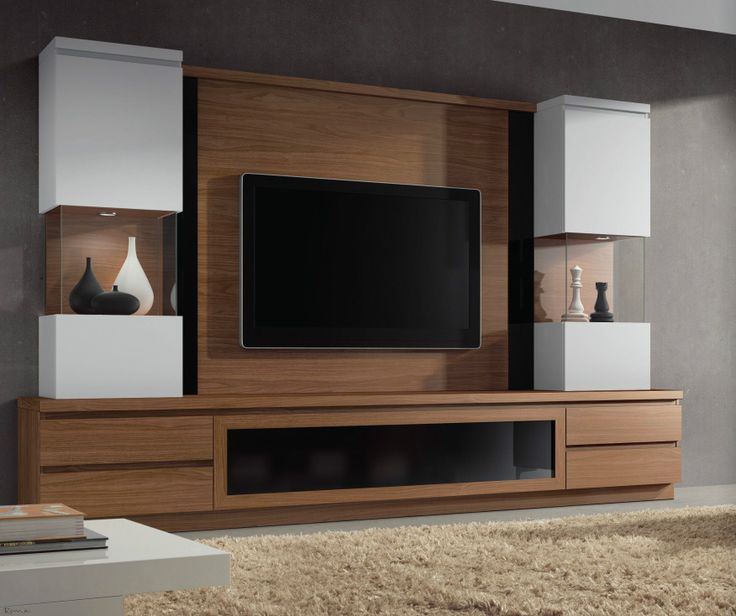 Muebles tv de diseo fabulous mueble de televisin md with for Mueble giratorio