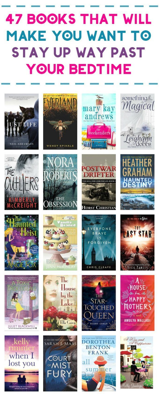 2016 Summer Reading List for Adults