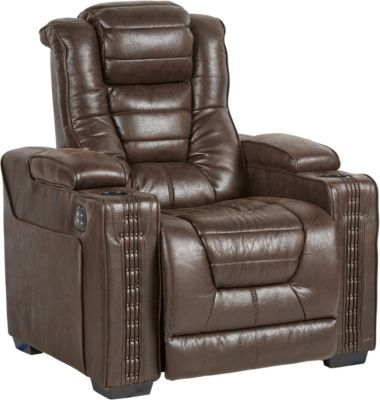 Eric Church Highway To Home Chief Brown Power Plus Recliner 59999