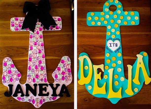 Delta Gamma Crafts Pinterest