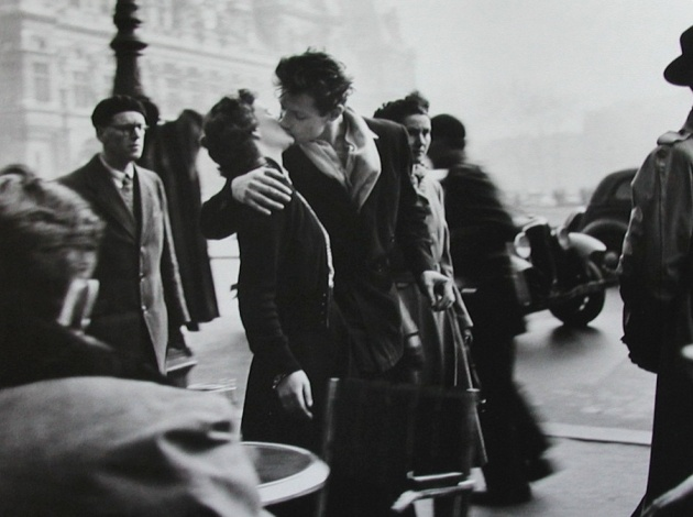 Robert Doisneau, Bacio all'Hotel de Ville