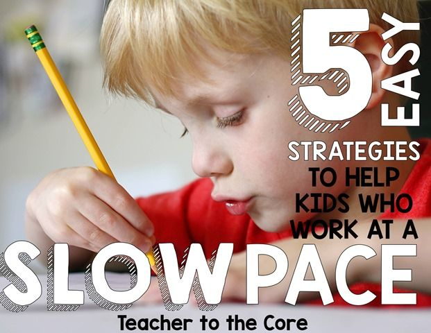 Outstanding blog post to help those slower workers get classwork done. Free reources, anchor charts & student reward coupons  help kids and teachers get it done