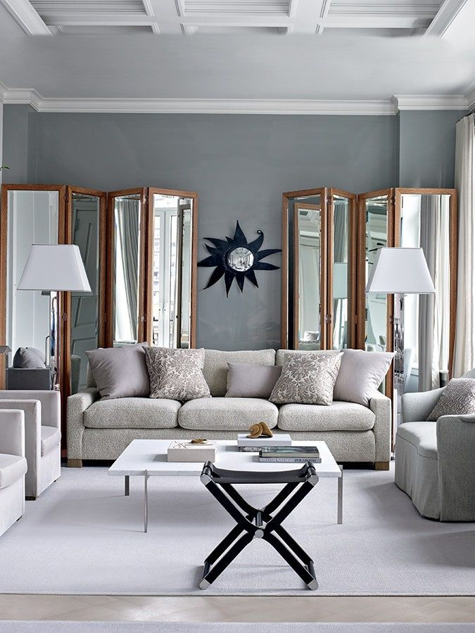 28 Ideas for Gray Living Rooms 2021 in 2020 | Living room ...
