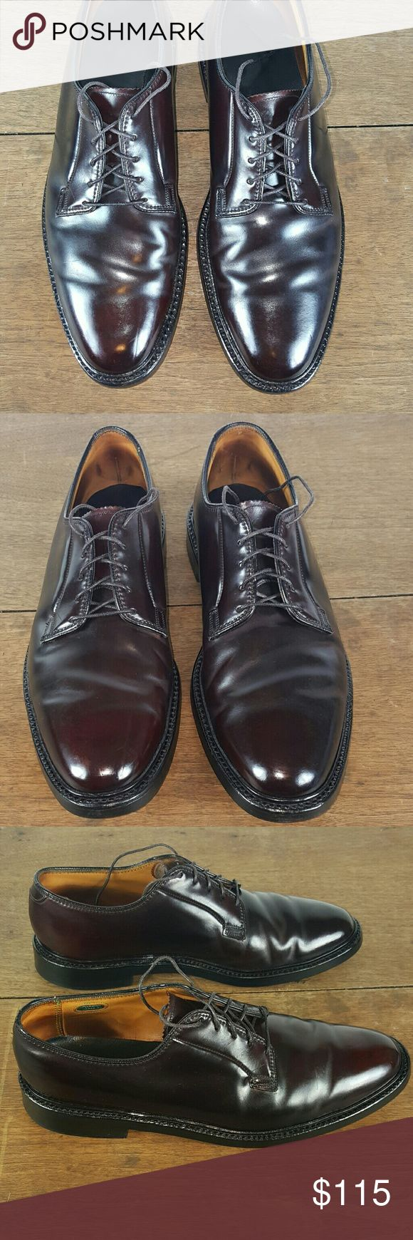 Florsheim Imperial Brown Cordovan Shoes, size 10C. They are in clean and great condition as pictured.  Thanks for Your interest,  questions and offers are welcome. Florsheim Shoes Oxfords & Derbys