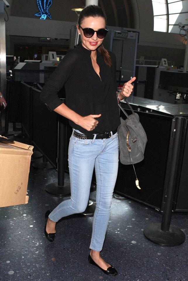 Miranda Kerr jeans