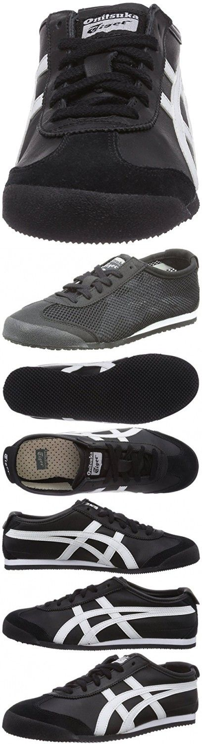 Onitsuka Tiger Mexico 66 Black White Mens Trainers DL408-9001