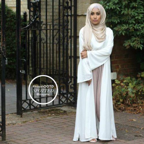 sophisticated and elegant abaya- Abaya hijab fashion from Dubai http://www.justtrendygirls.com/abaya-hijab-fashion-from-dubai/