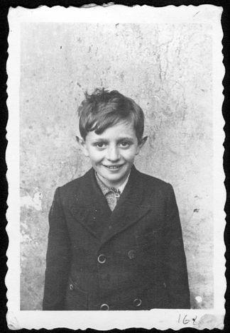 Trzebinia, Poland, A Jewish boy.