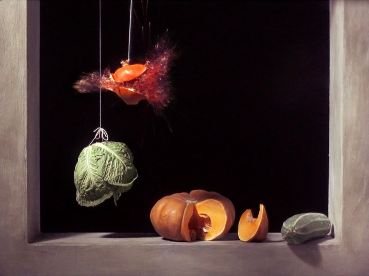Still image from Pomegranate, 2006, Ori Gersht, courtesy of Mummery and Schnelle…