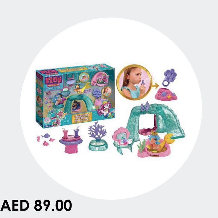 Filly Mermaids Playground #toys #games #kids #playground #online #shopping #menakart #starpalace #gamesforkids #mermaidsbox