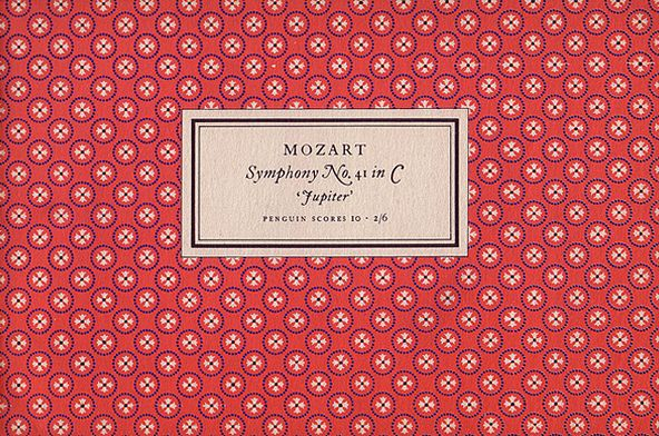 Tschichold covers for music books. Simple, gorgeous.