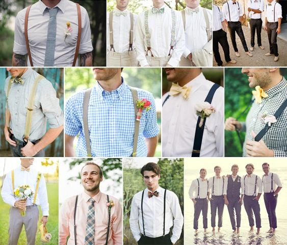 Suspenders, Waistcoats & Rolled Up Sleeves