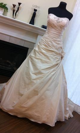 Alfred Angelo 753  preownedweddingdresses.com