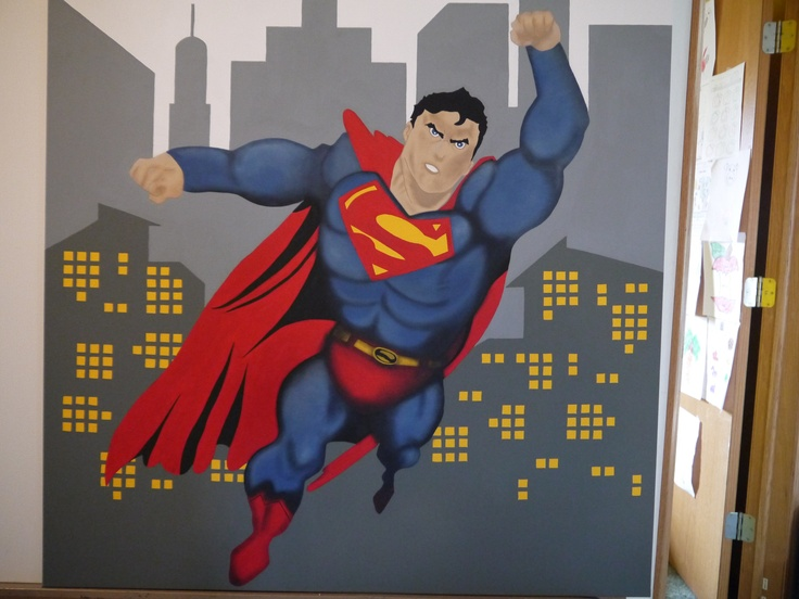 55 best superman room images on pinterest